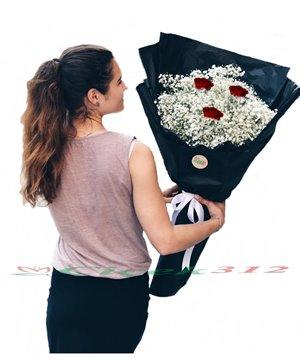 Şans Çiçeği(Cipsofilya)Buketi