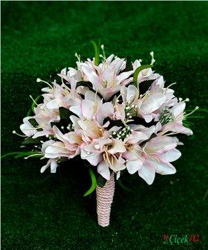 Yapay Lilyum Gelin Çiçeği