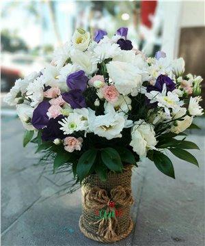 Karma Çiçek Aranjmanı-05