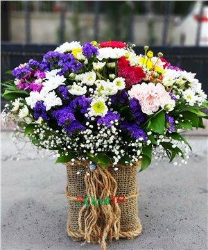 Karma Çiçek Aranjmanı-08