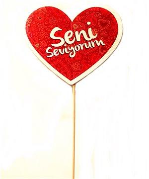 Seni Seviyorum Kalp Çubuk