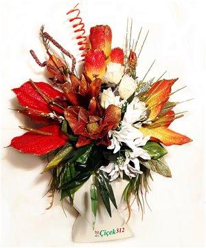Karma Yapay Çiçek Aranjmanı-00103