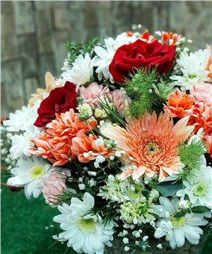 Karma çiçek aranjman-002