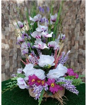 Yapay Çiçek Tasarımı-016
