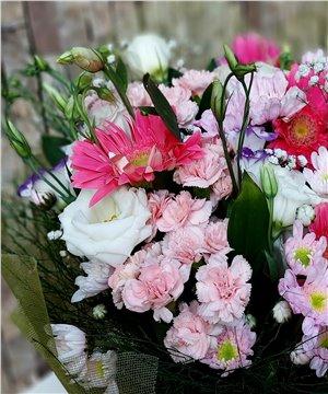 Mevsim Çiçekleri Buketi-005