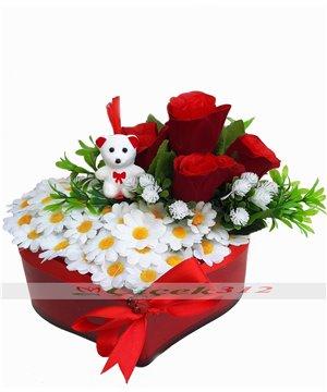 Kalbimdeki Çiçeksin