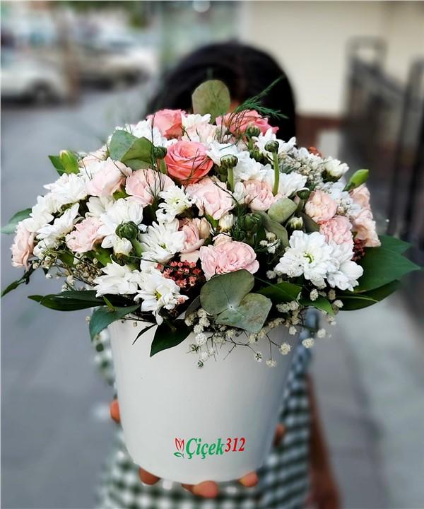 Karma Çiçek Aranjmanı-11