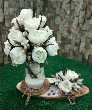 Yapay Çiçek Tasarımı-013