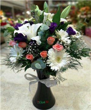 Karma Çiçek Aranjmanı-001