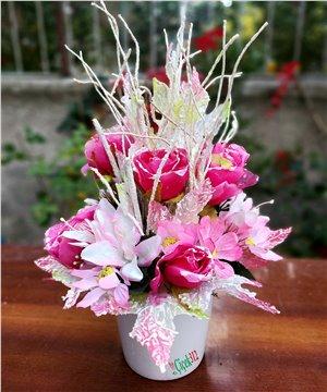 Yapay Çiçek Tasarımı-005